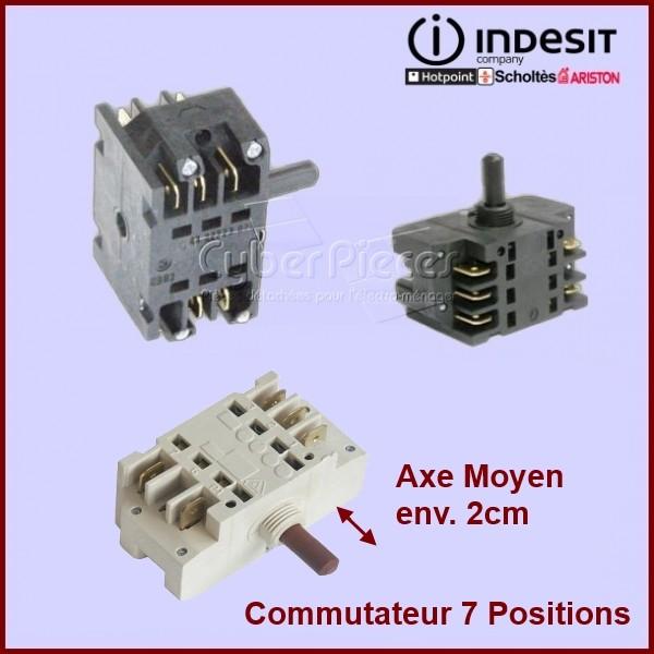 Commutateur 7 positions Axe Moyen EGO 4132723020