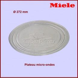Plateau en verre 272mm Miele 6636761 CYB-396790