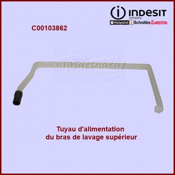 Tuyau d'alimentation du bras supérieur Indesit C00103862