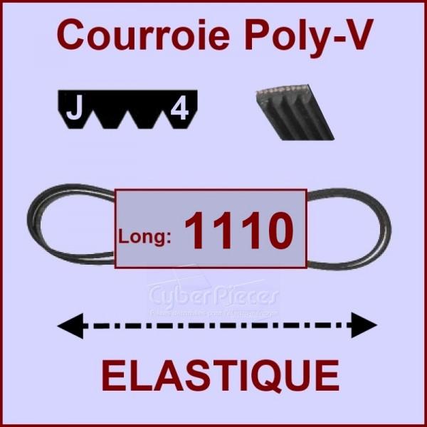 Courroie 1110J4 - EL- élastique
