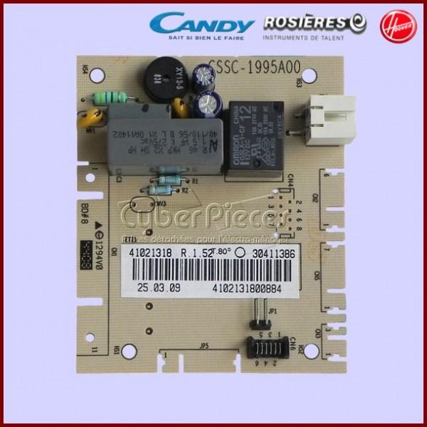 Carte électronique programmé Candy 41021318