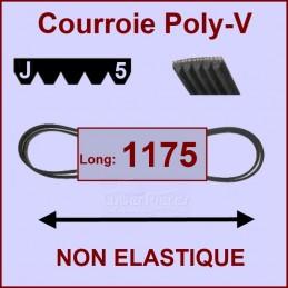 Courroie 1175J5 non élastique