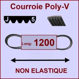 Courroie 1200J5 non élastique