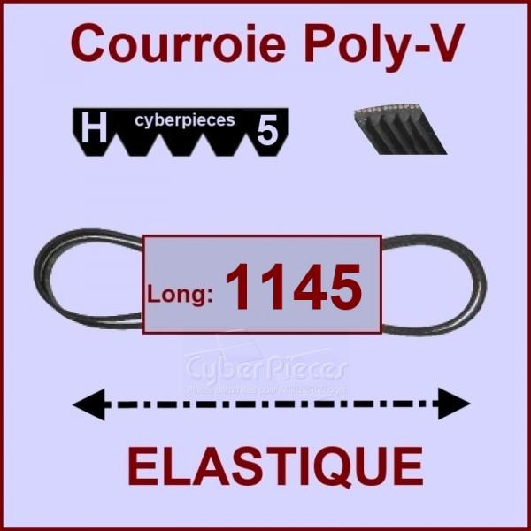 Courroie 1145H5 - EL- élastique