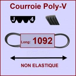 Courroie 1092J4 non élastique CYB-003407