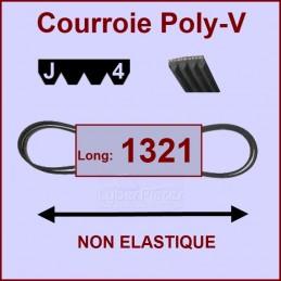 Courroie 1321J4 non élastique