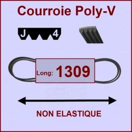 Courroie 1309J4 non élastique