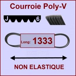 Courroie 1333J6 non élastique