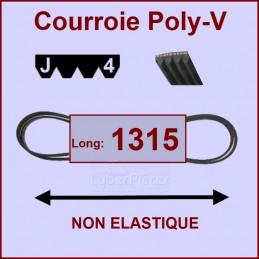 Courroie 1315J4 non élastique