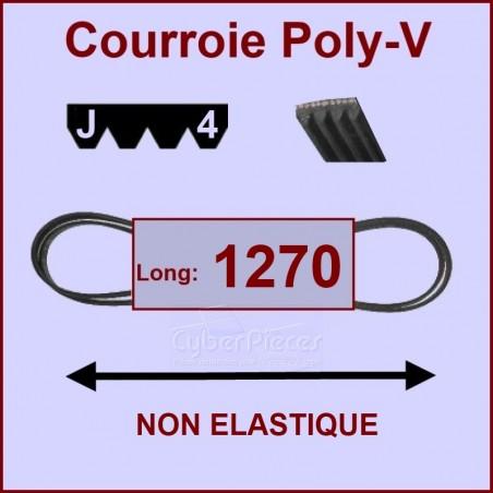 Courroie 1270 J4 non élastique