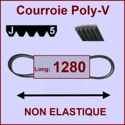 Courroie 1280J5 non élastique