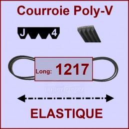 Courroie 1217J4 - EL- élastique CYB-004213