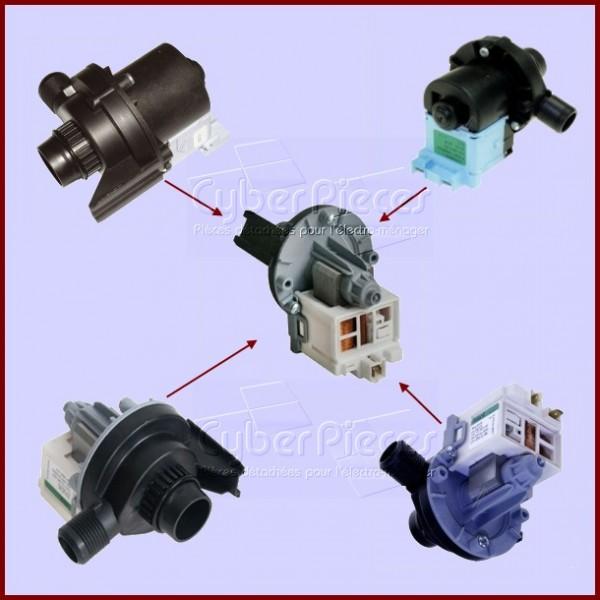 pompe de vidange 1245988801 pour pompe de vidange machine a laver lavage pieces detachees. Black Bedroom Furniture Sets. Home Design Ideas