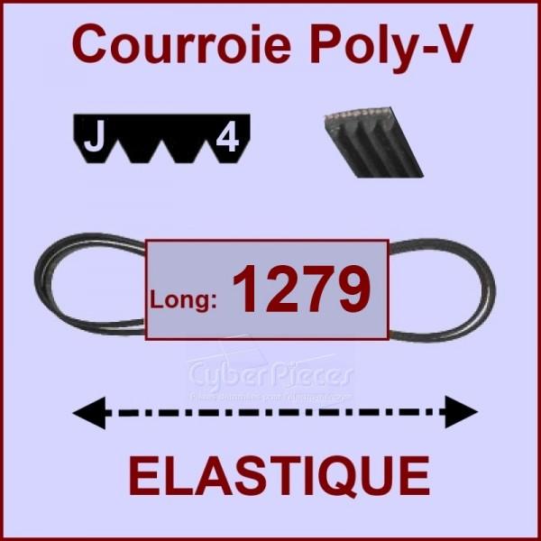 Courroie 1279 J4 - EL- élastique