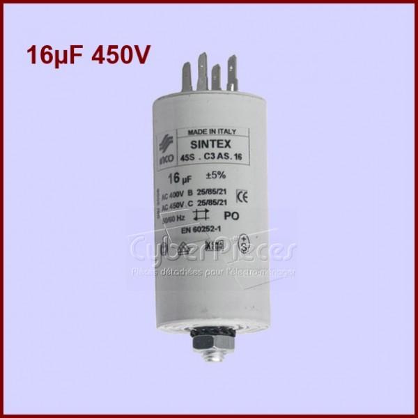 15 CONDENSATEURS HAUTE TENSION 22 µF 450 Volts