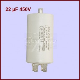Condensateur 22,0µF (22,0MF) 450V CYB-005401