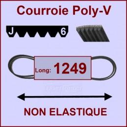 Courroie 1249J6 non élastique