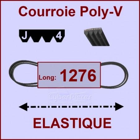 Courroie 1276 J4 - EL- élastique