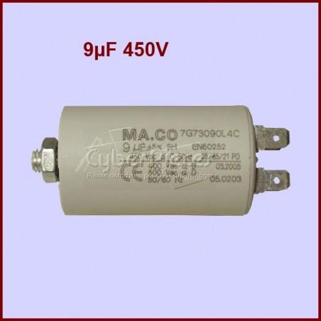 Condensateur 9,0µF (9,0MF) 450 Volts