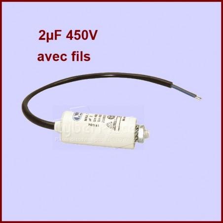 Condensateur 2,0µF (2,0MF) 450 Volts