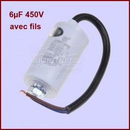 Condensateur 6,0µF (6mF) 450V