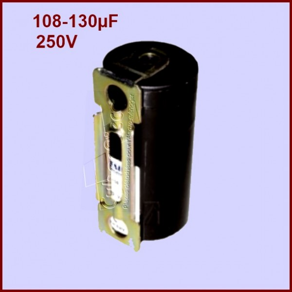 Condensateur 100,0 - 125,0µF (100,0 - 125,0MF) 450 Volts