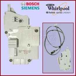 Sécurité de porte avec câble BPP/5 Whirlpool 481010474505 / Bosch 00631219 CYB-183840
