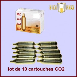 Lot de 10 cartouches C02...