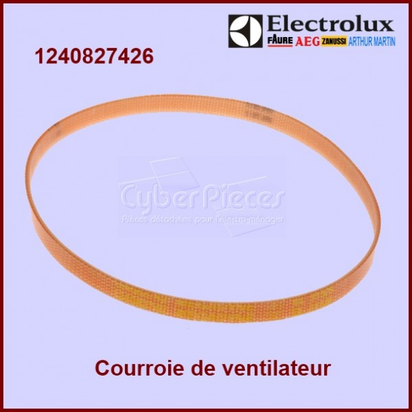 courroie de transmission ventilateur 1240827426 pour courroies machine a laver lavage pieces. Black Bedroom Furniture Sets. Home Design Ideas