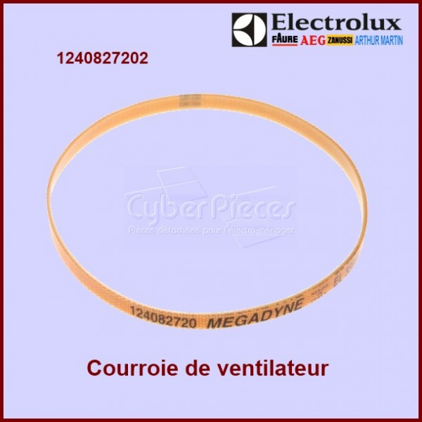 courroie de transmission ventilateur 1240827202 pour courroies machine a laver lavage pieces. Black Bedroom Furniture Sets. Home Design Ideas