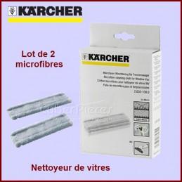 Lot de 2 chiffons microfibres Kärcher 26331000 CYB-003520
