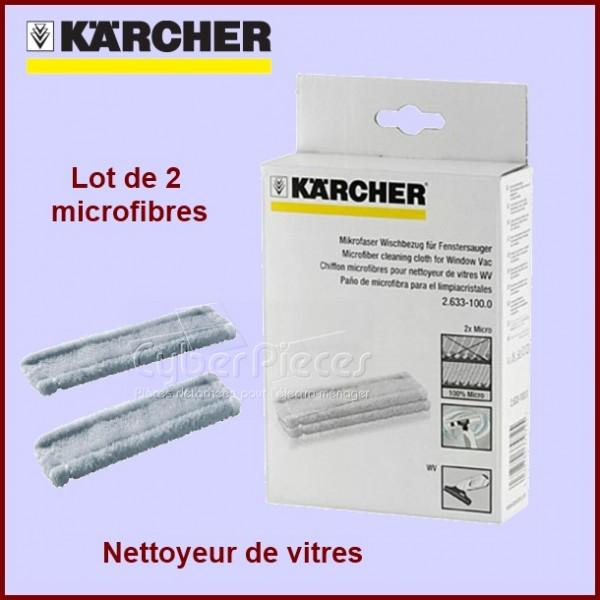 Lot de 2 chiffons microfibres Kärcher 26331000