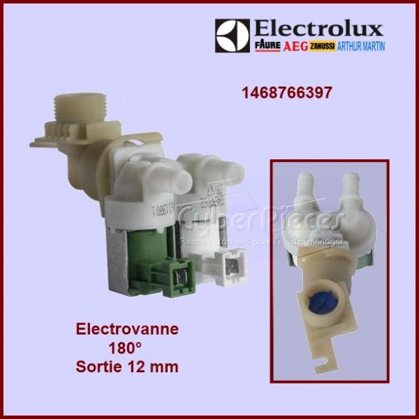 Électrovanne 2 voies 180° Ø 12 mm à connecteur 1468766389