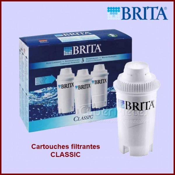 Cartouches filtrantes BRITA CLASSIC (Lot de 3)