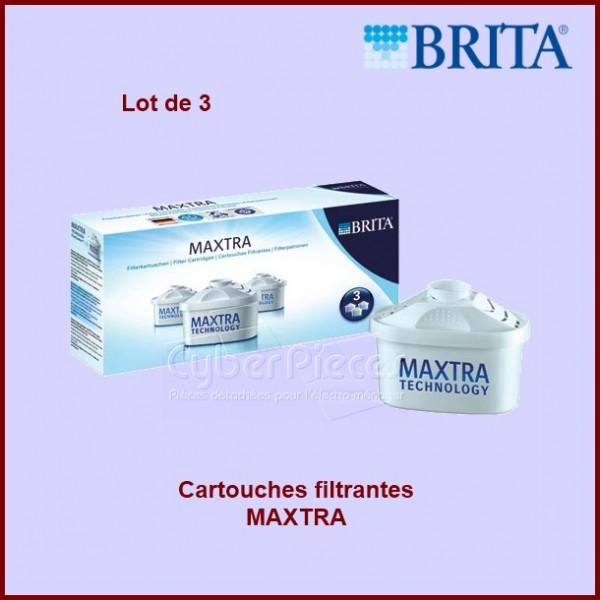 Cartouches filtrantes BRITA MAXTRA (Lot de 3)