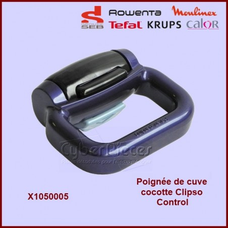 Poignée Bleue Clipso Control SEB X1050005 / SS-980756