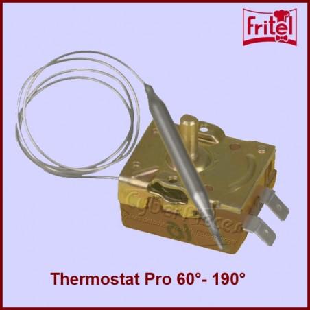 Thermostat Reglable 60°- 190° Pour Friteuses Professionnelles ou Semi Pro