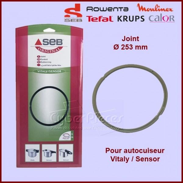 Joint 8 10 litres diam 253mm pour autocuiseur vitaly et sensor seb