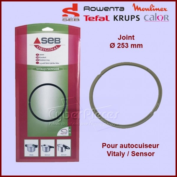 joint de cocotte sensor vitaly seb 980532 980549 pour. Black Bedroom Furniture Sets. Home Design Ideas