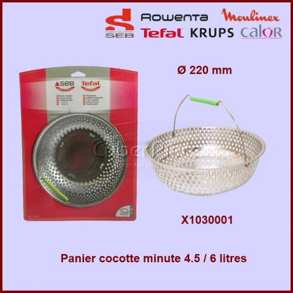 Panier Cocotte-Minute SEB X1030001