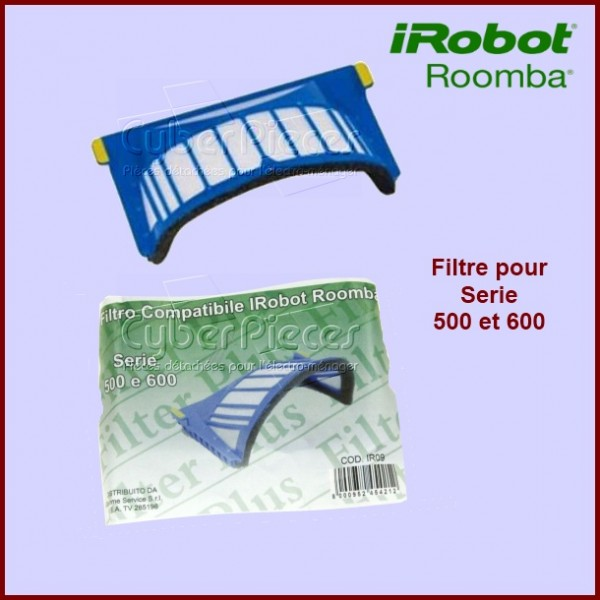 Filtre Irobot ROOMBA Série 500 pour bac AEROVAC