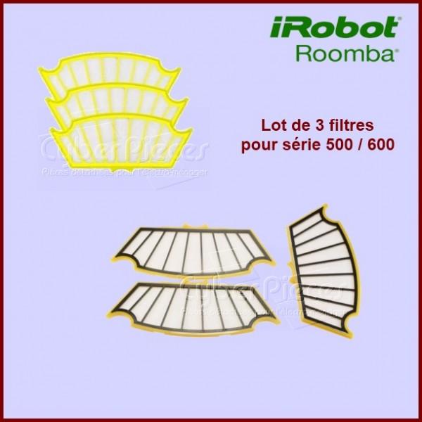 Lot de 3 Filtres pour Irobot ROOMBA - ACC251