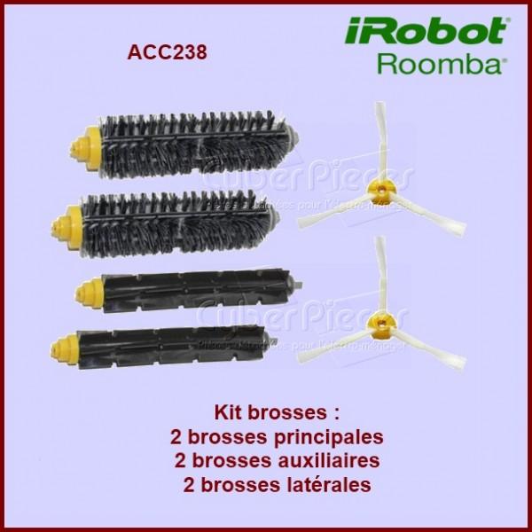 Kit brosses pour Irobot ROOMBA - ACC238