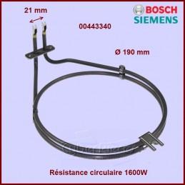 Résistance circulaire 1600W Bosch 00443340 CYB-291521
