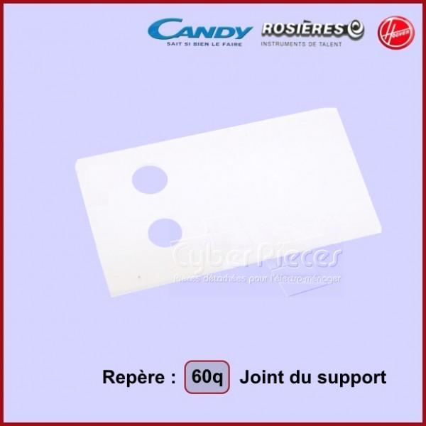 Joint des supports droit et gauche (repère 60Q) 91602771