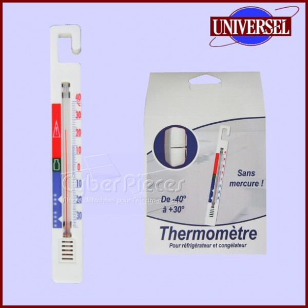 Thermomètre de réfrigérateur/congélateur -40+30°