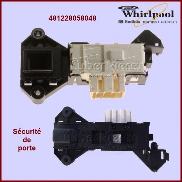 Sécurité de porte Whirlpool 481228058048