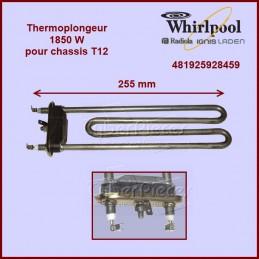 Thermoplongeur 1850W - T12 Whirlpool 481925928459 CYB-013406
