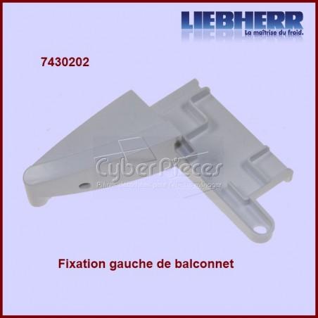 Fixation gauche tablette de balconnet 7430202