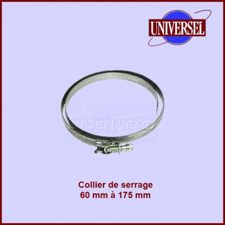Collier pour gaine extensible Ø de 60 à 175mm